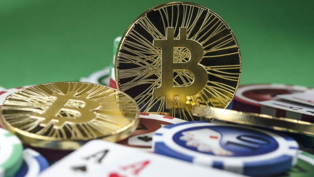 Casino Chips and Bitcoin