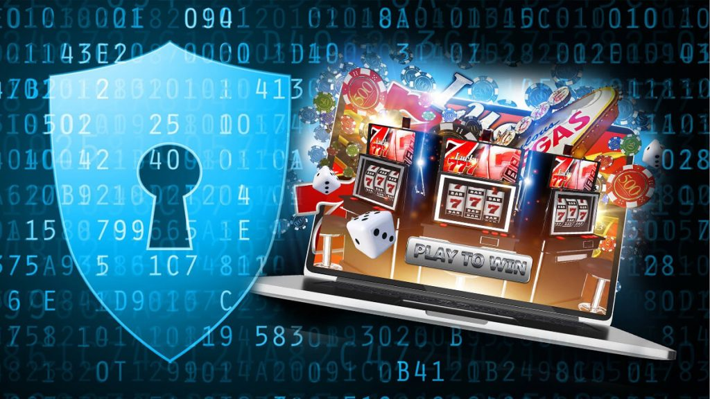 Data Lock Coding Privacy - Laptop - Casino Gambling